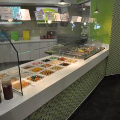 Photo of Yogurtland - San Diego, CA, United States. The bar is always clean!