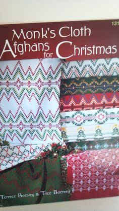 How to Make Monks Cloth Afghans for Christmas by PotsandPetticoats, $6.95