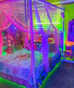 hippie bedroom decor 529665606178431442 - Source by umbrellacow Hippie Bedroom Decor, Neon Bedroom, Room Ideas Bedroom, Hippie Bedrooms, Boho Decor, Pink Dorm Rooms, Indie Bedroom, Cute Room Ideas, Cute Room Decor