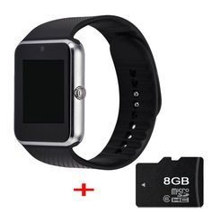 TimeOwner GT08 Bluetooth Smart watch for iPhone 6 7 plus Samsung S4/Note 3 HTC Android Phone Smartphones Android Wear