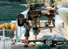 Liquor service on wheels - An Airstream trailer with a liquor license via @PureWow