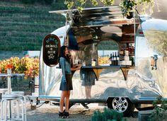 Liquor service on wheels - An Airstream trailer with a liquor license via @PureWow