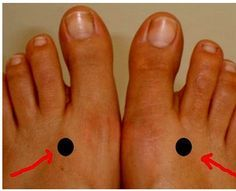 This point is located on the webbing between the big and the second toes. Applying pressure on this point and hold on 2 minutes per day. Stimulating this point on both the foot alternately helps in regulating and refreshing the liver, and this point also helps in curing vision problems, menstrual cramps, headaches, lower back […]