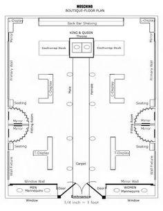Clothing Boutique Floor Plan | Design Portfolio ...