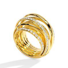 Allegra ring by De Grisogono