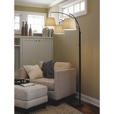 Floor lamp for living room: http://www.target.com/p/threshold-3-arm-arc-floor-lamp/-/A-15182213#prodSlot=_1_9