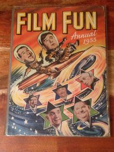 1955 Film Fun Annual Laurel and hardy plus others by CapeVintage