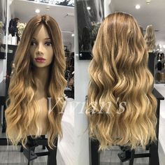 Thick 150% Density 7A Brazilian Remy Human Hair Wigs Blonde Mono Full Lace Front | Health & Beauty, Hair Care & Styling, Hair Extensions & Wigs | eBay!