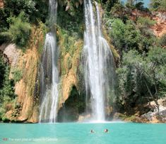 """swim in the mountain pools above the Cote d""""Azure France! Check out the book 'Wild Swimming in France"""" by Daniel Start Nice, Provence France, South Of France, Antibes, Europa Camping, Santa Cruz Camping, Camping In Maine, Best Swimming, Waterfalls"""