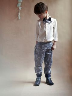 Cortège enfant 2013 Liberty prints with tailoring for boys wedding outfits #kids #special occasions