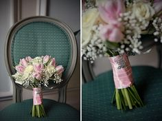 Pink bridal bouquet, Biance and Daniel - Marianne Taylor Photography wedding