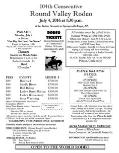 2016 Rodeo flyer
