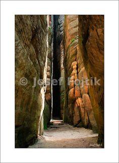 Fine Art Photography Print on a high-end photo paper - Adrspach-Teplice Rocks, Czech Republic