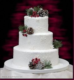 white wedding cakes Winter concept weddings are best suited for snow white wedding cake. In addition. - Winter concept weddings are best suited for snow white wedding cake. In addition to white cream col - Wedding Cake Rustic, White Wedding Cakes, Cake Wedding, Wedding Cupcakes, Wedding Vows, Wedding Table, Wedding Reception, Wedding Venues, Wedding Cake Designs