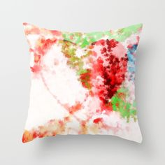 Buy Heart 2015 by Christine baessler as a high quality Throw Pillow. Worldwide shipping available at Society6.com. Just one of millions of products available.