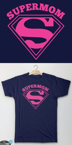 Amazon.com: Supermom Mom T-Shirt: Mother's Day Gift for Mom Super Mom Shirt with Super Hero Graphic.