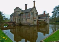 Baddesley Clinton - moated medieval manor house in Warwickshire - and scene of murder, mayhem and mellowness!