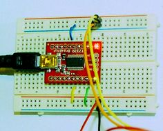 DIY Arduino - FT232 and breadboard