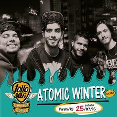 Dia 25/07, no Festival Tollosa.  Com vocês, Atomic Winter! Vindos de Goiânia, a banda está na estrada divulgando o disco Snowmelt. Hardcore rápido, intenso e com muita bala na agulha. Em estúdio, eles preparam o seu novo disco. Será que rola um lançamento no nosso palco?  Assistam em: https://www.youtube.com/watch?v=6I_A9up1WGU  #tollosa #festivaltollosa #atomicwinter #experimental #paraty #bandasindependentes #bandas #musica #rock #festivaldemusica #PousadaDoCareca