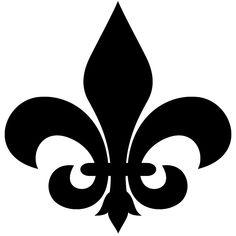 fleur de lis silhouette | Printable Fleur De Lis Pattern http://cakecentral.com/g/i/1459878/what ...