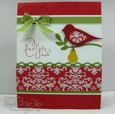 Stampin' Up Bird punch