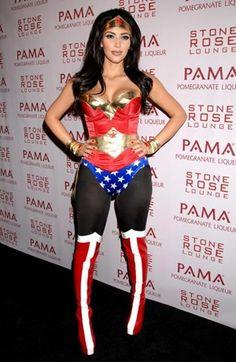 #kimkardashian #wonderwoman #costume