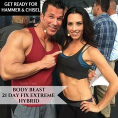 21 Day Fix Extreme Body Beast Hybrid for MAX results in 8 weeks with Autumn Calabrese & Sagi Kalev! SO excited to do this before Hammer & Chisel