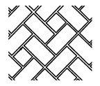 via BKLYN contessa :: resurfacing systems inc :: concrete stamp pattern :: flanders weave