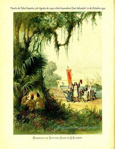 Colon llega a America 12 de octubre 1492