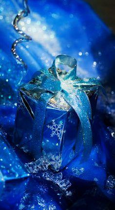 ♦sparkling blue Christmas♦