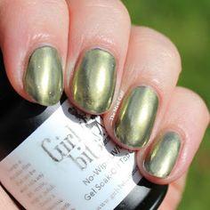 Girly Bits Gold Chrome Powder