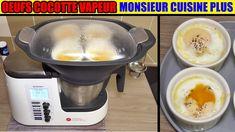 œufs cocotte aux épinards monsieur cuisine plus thermomix cuisson à la vapeur - YouTube