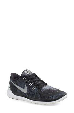 df3685125de72f Nike  Free 5.0 Solstice  Running Shoe textile black silver sz7.5 99.98
