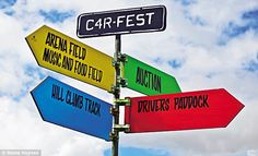 CarFest: Planes, rain and automobiles - nothing can put a damper on it | Mail Online