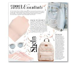 """Summer Essentials"" by azra10 ❤ liked on Polyvore featuring Rip Curl, WearAll, Anja, adidas Originals and Christian Dior"