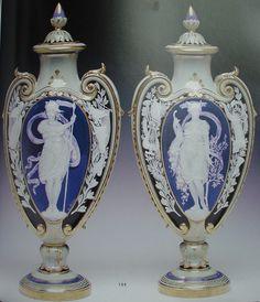 Royal Vienna Vases