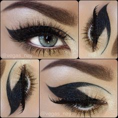 Steps to Cat Eye Inspired look✨ 1.) prime eyes and apply (all eyeshadows by @motivescosmetics) e/s in CAPPUCCINO in crease; then highlight brown bone w/ ANTIQUE PINK e/s and also pat on lid and lower tear ducts. Apply TOAST eyeshadow along lower lash line 2.) using @Eyeko London London London liquid metal eyeliner in BLACK ONYX (waterproof metallic colour) form your cat wing as pictured.