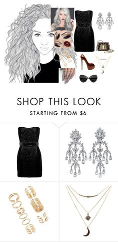 """Unite #JessieJ"" by diane-ds ❤ liked on Polyvore featuring Balmain, Christian Louboutin, Forever 21 and Charlotte Russe"