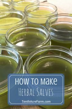 Herbal salves are often used for healing skin ailments. Learn how to use herbs from your garden to make healing salves.