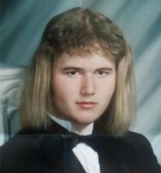 Say cheese!: The world's WORST yearbook photos range from strange to scary to just plain hilarious Funny Yearbook, Yearbook Photos, Boy George, 80s Haircuts, Awkward Family Photos, Mullets, Hair Humor, Funny Pictures, Awkward Pictures