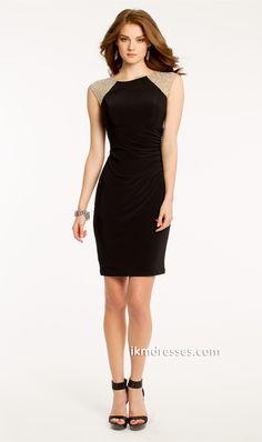 eaded Illusion Dress http://www.ikmdresses.com/Beaded-Illusion-Dress-p87415