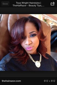 Toya wright bob hair cut love it