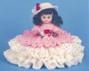 "7028 Crochet Pattern 13"" STEPHANIE Bed Doll"