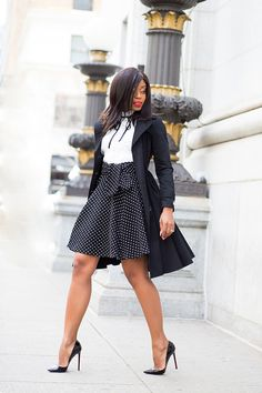 At madivas we always look out for our own and like a psychic we know when you need a dose of inspiration, this work outfit inspirations is guaranteed Casual Chic Outfits, Cute Outfits, Black Outfits, Work Outfits, Work Fashion, Fashion Outfits, Professional Outfits, Classy Dress, Holiday Fashion