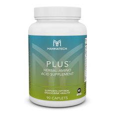 PLUS™ - Formulated with a unique blend of standardized nutrients designed to keep your endocrine system healthy. Amino Acid Supplements, Natural Supplements, Nutritional Supplements, Wellness Fitness, Health And Wellness, Bodybuilding Supplements, Endocrine System, Amino Acids, Real Food Recipes