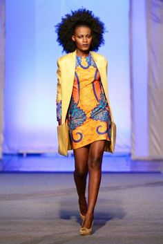 Krizz Ya @ Kinshasa Fashion Week 2013 | FashionGHANA.com
