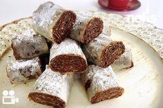 Çikolatalı Çıtır Rulo Videosu