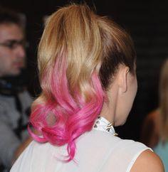 Lauren Conrad's hot pink ombre.
