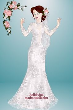 But firstly, a bride by rose-renee ~ Disney Dress Up