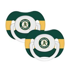 MLB - Oakland Athletics Pacifier 2-Pack